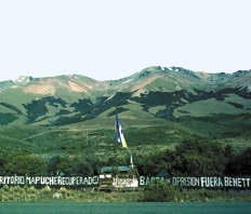 El debate mapuche