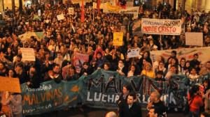 Masiva marcha en Córdoba contra Monsanto (septiembre de 2012)